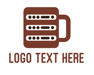 Coffee - Coffee Server logo design