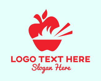 Homemade - Apple Food logo design