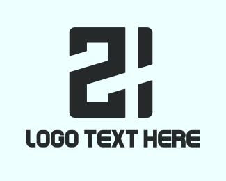 Double - Twenty One logo design