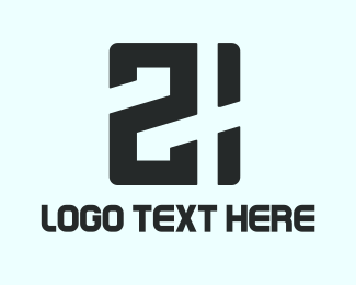 Double - Twenty One logo design