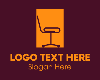 Design - Chair Rectangle logo design
