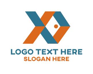 Folded Fish Logo