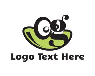 Caricature - Frog Face logo design