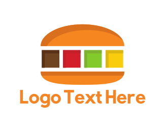 Clouding - Color Burger logo design
