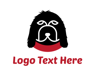Doggie - Black Dog   logo design