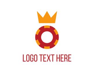 Crown - Royal Chip logo design