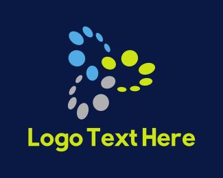 Dots - Tech Circles logo design