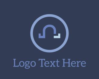 Shape - Omega O logo design