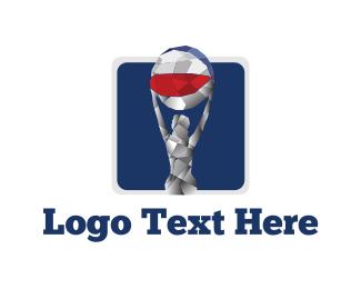 Pilates - Beach Ball logo design