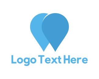 Light Blue - Blue Drops logo design