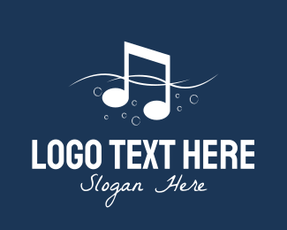 Musical - Music Sea logo design