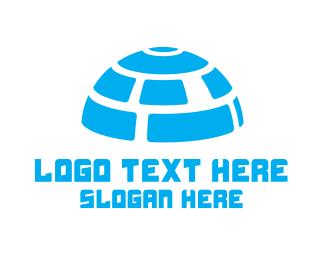 Connectivity - Digital Igloo logo design