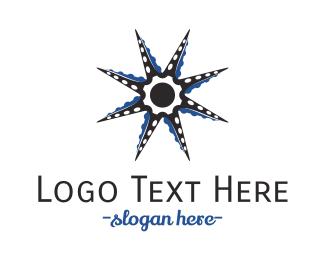 Beach - Octopus Star logo design