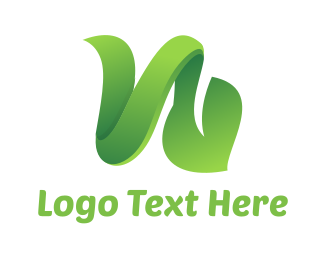 Vine - Green Vine Leaf logo design