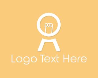 White Light Bulb Logo