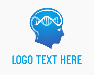 Clinical - Brain DNA logo design