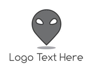 Illustration - Alien Spot logo design