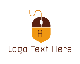 Electronic Device - Acorn Mouse  logo design