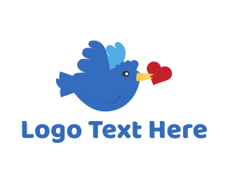 Tweet - Bird Love logo design