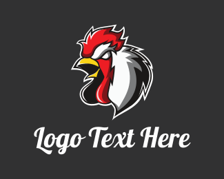 Chicken Dinner Mascot Logo Maker