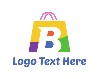 Supermarket - Shopping Bag logo design