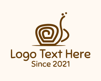 Snail - Coffee Twirl logo design