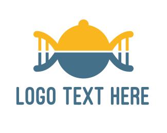 Cafeteria - DNA Food logo design
