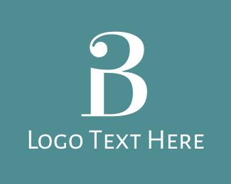 Sleek - Traditional Letter B logo design