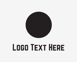 Development - Black Circle logo design