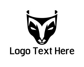 Deer - Deer Mask logo design