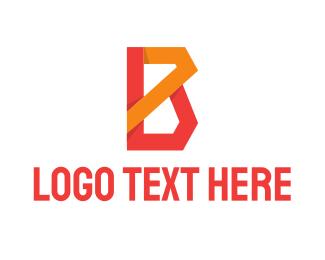 Entertainment - Creative Letter B logo design