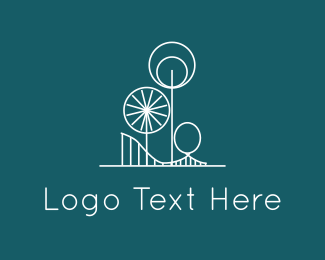 Fair - Amusement Park logo design