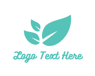 Herbal - Mint Leaves logo design