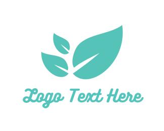 Herbal - Mint Leaves logo design