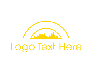 Urban - Yellow City logo design