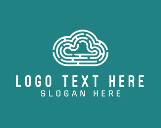 Maze - Maze Cloud logo design