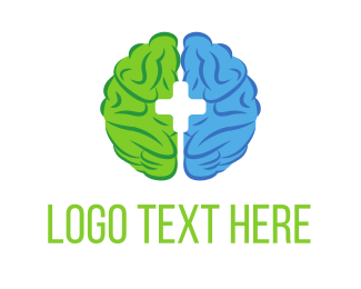 Psychologist - Brain Rehab logo design