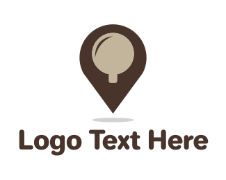 Location - Coffee Place logo design