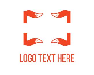 Frame - Fox Tails logo design