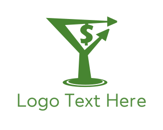 Sale - Money Drink logo design