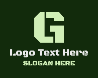 Army - Military Green Letter G logo design