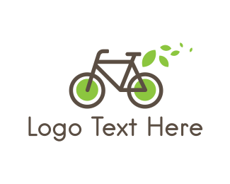 Bicycle - Eco Bike logo design