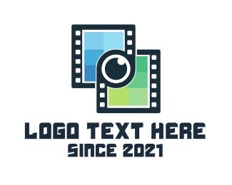 Vlog - Film Link logo design