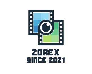 Youtube - Film Link logo design