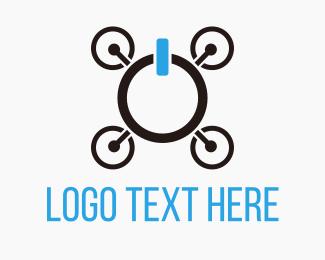 Spy - Drone On logo design