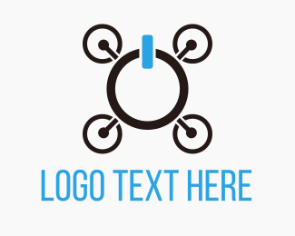Drone - Drone On logo design