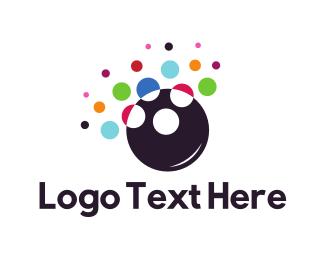 Explosion - Colorful Bubbles logo design