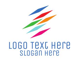 """Colorful Pixels"" by LogoBrainstorm"