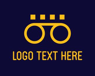 Tape - Orange Cassette logo design