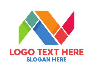 Unity -  Mosaic N logo design